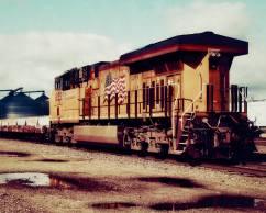 Railyard, Central Illinois 8 X 10