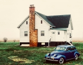 Classic Car, House